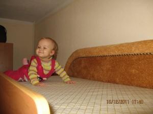 Второй ярус двухярусной компактной кровати-дивана г. Белая Церковь