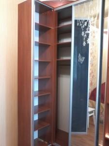 шкаф купе угловой зеркальный под заказ в Белой Церкви